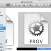 MobileprovisionProfile Screenshot
