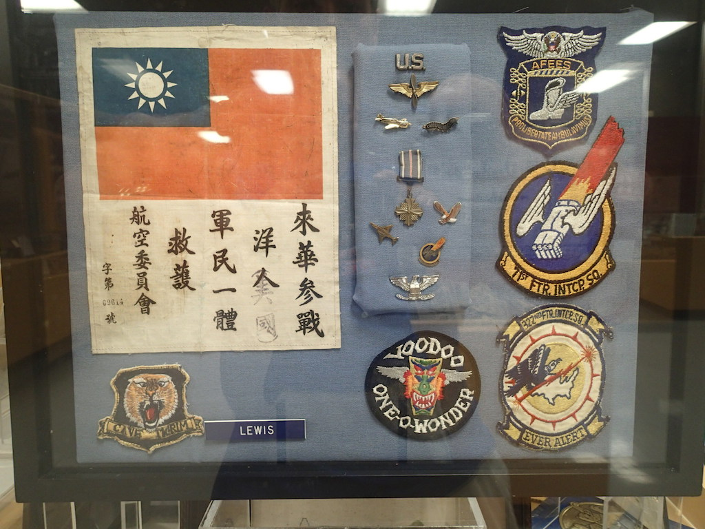 Arnit Lewis medals and patches