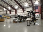 Plane in museum's attached hanger