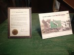 Certification of USS Arizona articfact