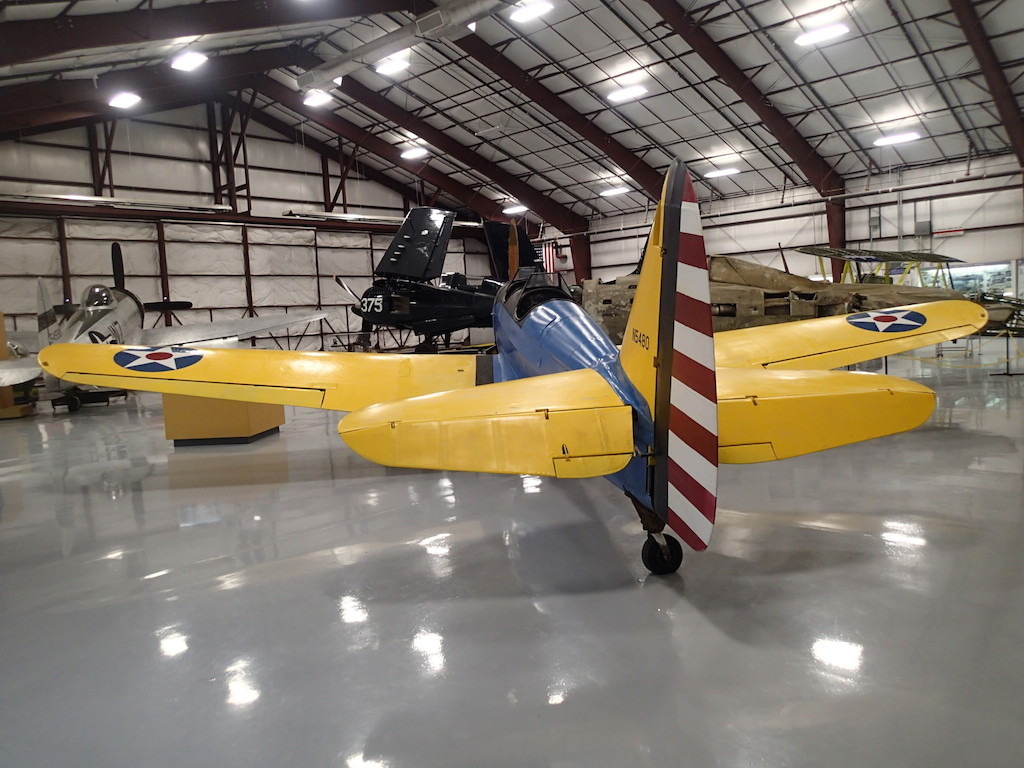 Planes in Attached Hangar