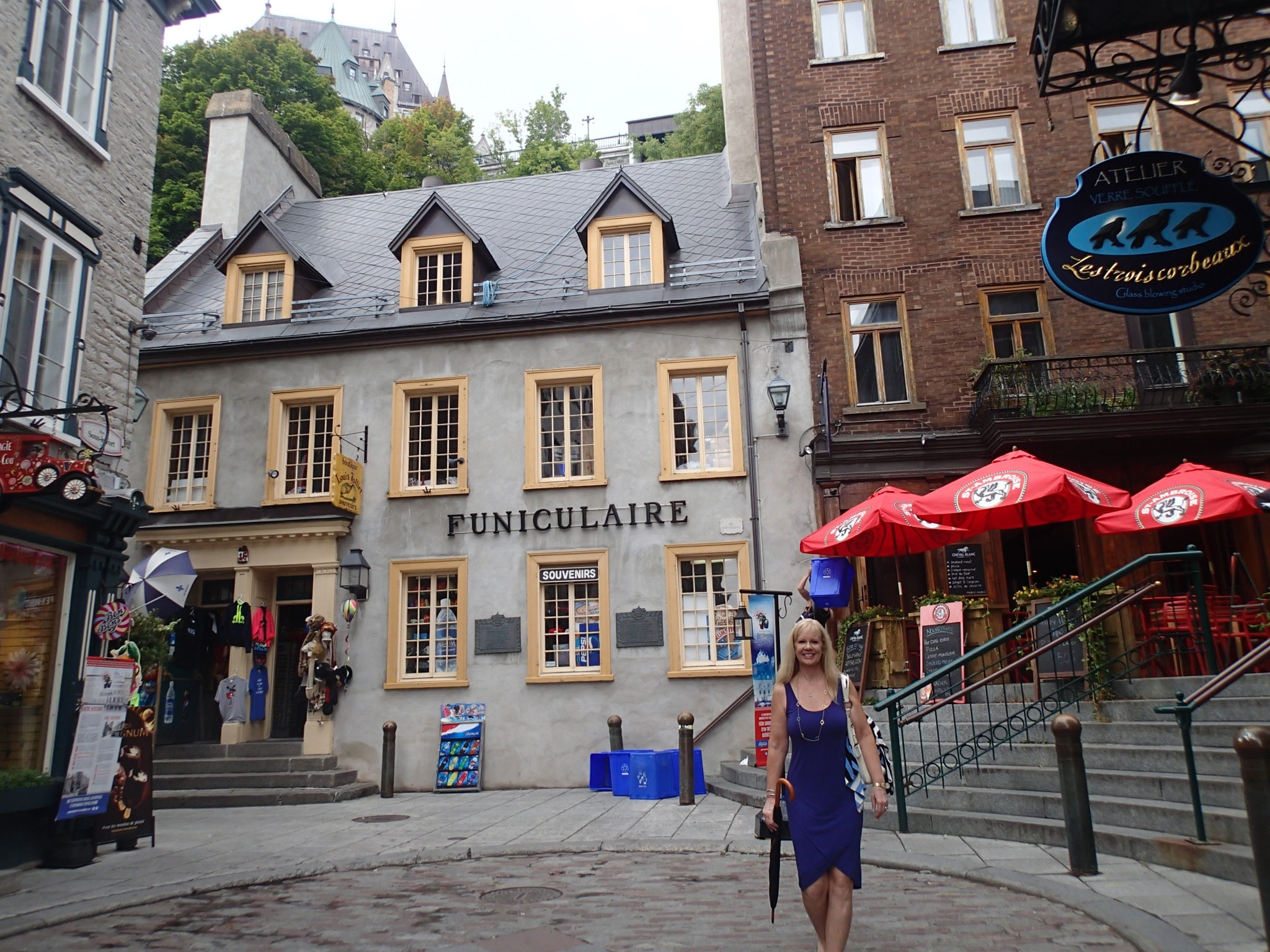 Audrey In Quebec City