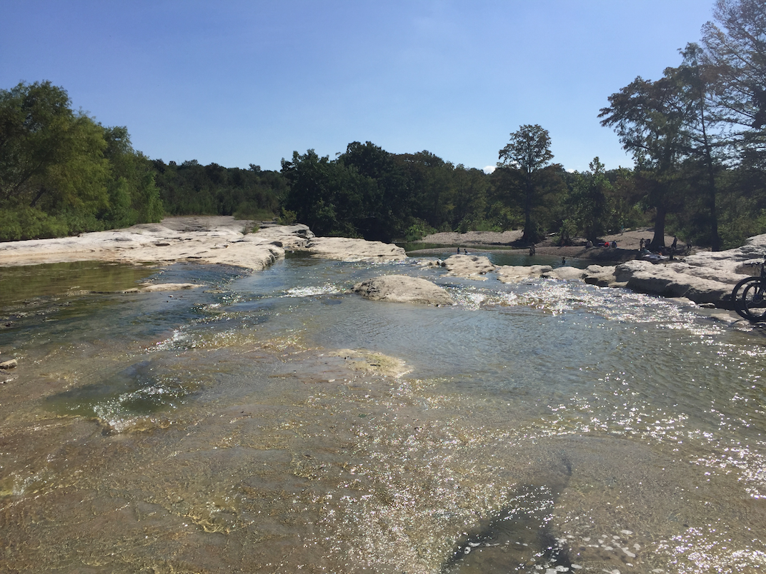 Above Lower Falls McKinney Falls State Park