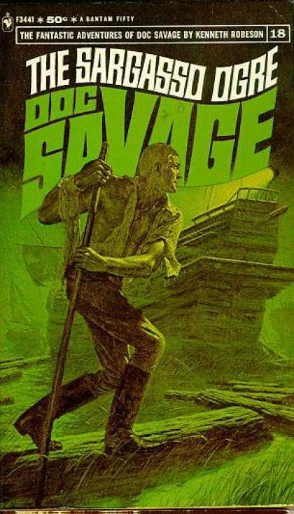 Sargasso Ogre Doc Savage