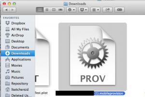 Apple Provisioning Profile