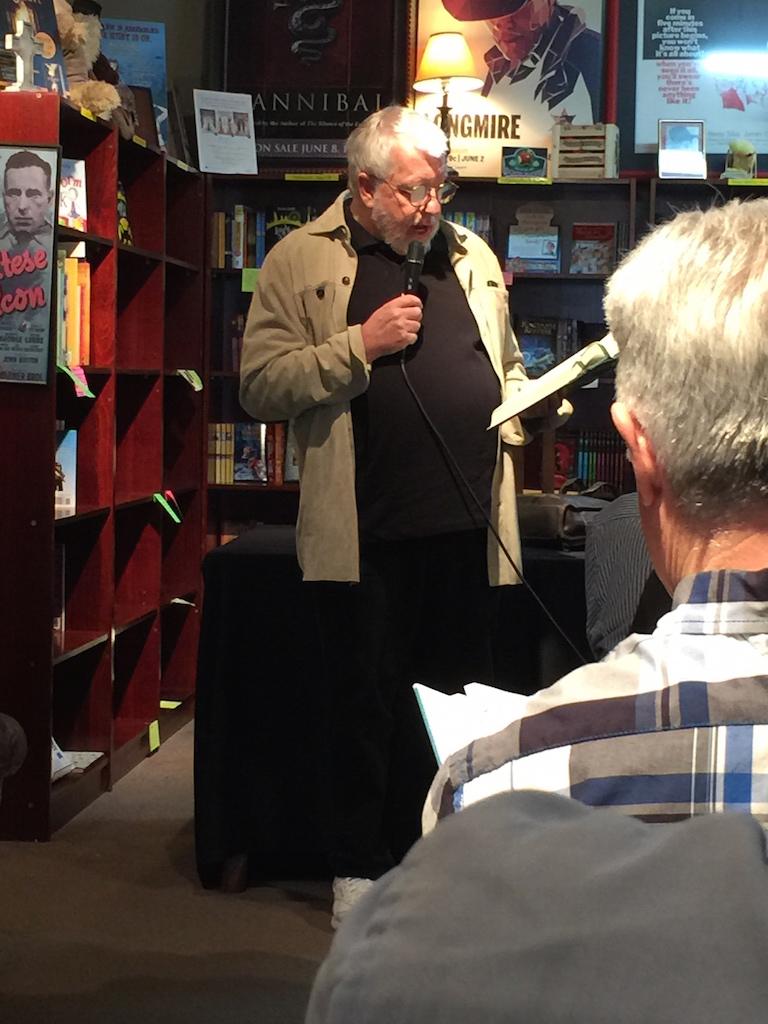 Dan Simmons reading