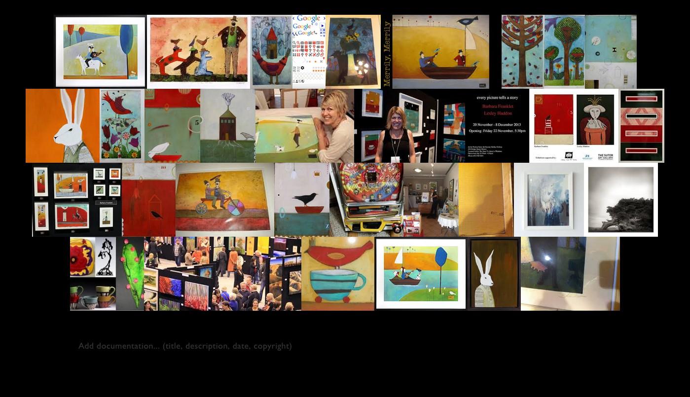Barbara Franklet Image Quilt