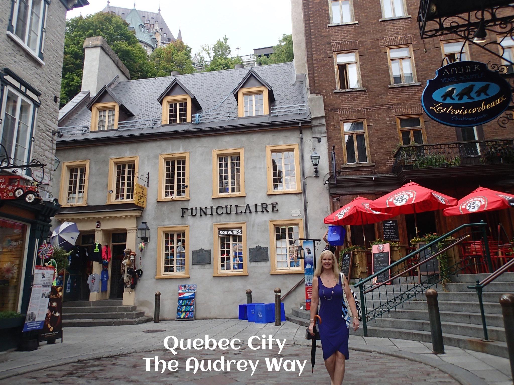 Audrey In Quebec City