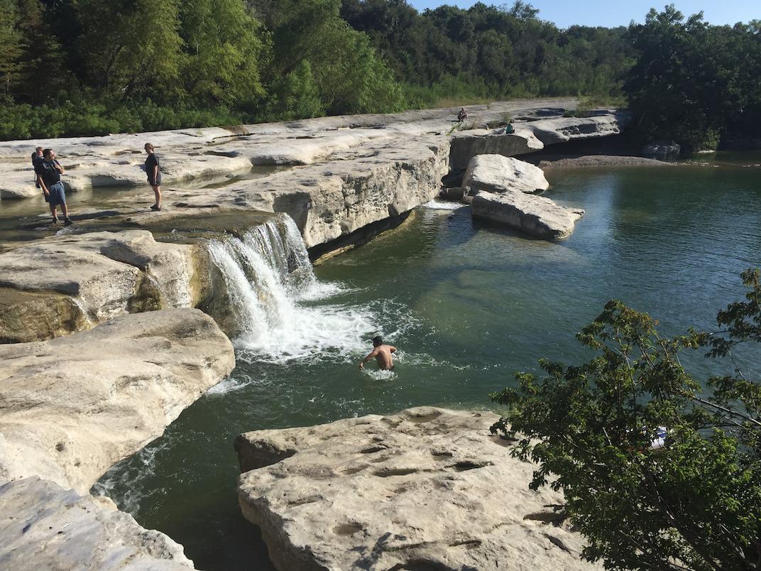 Lower Falls McKinney Falls StatePark