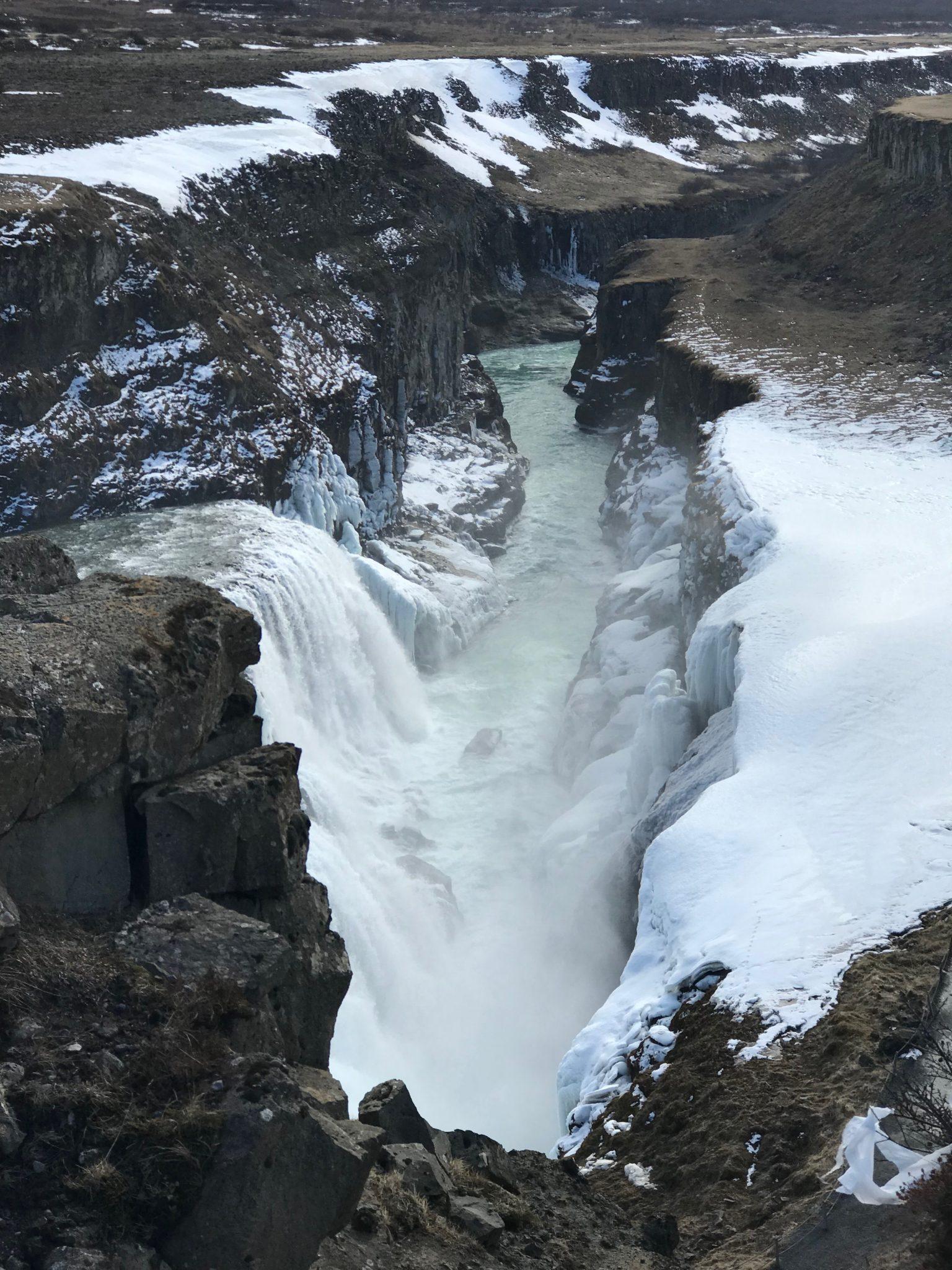 Gulfoss Downstream