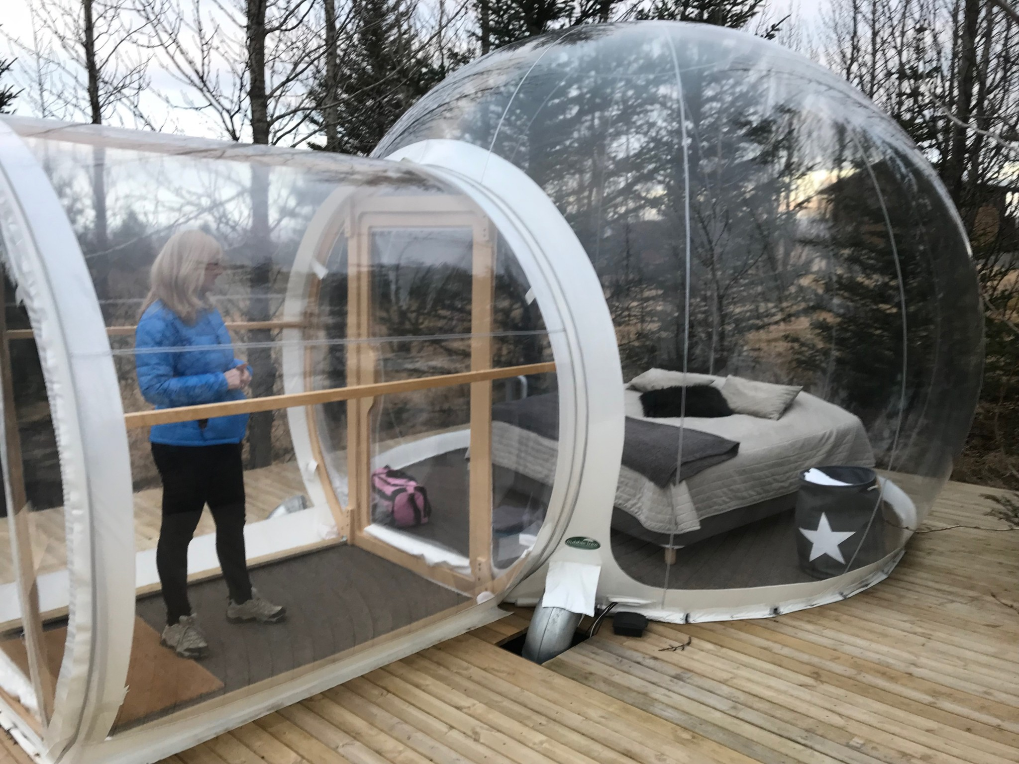 The Buubble Iceland Side View