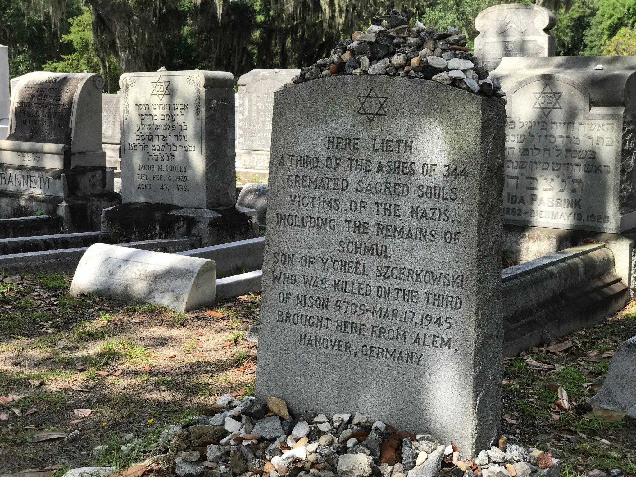 Holocaust Gravestone