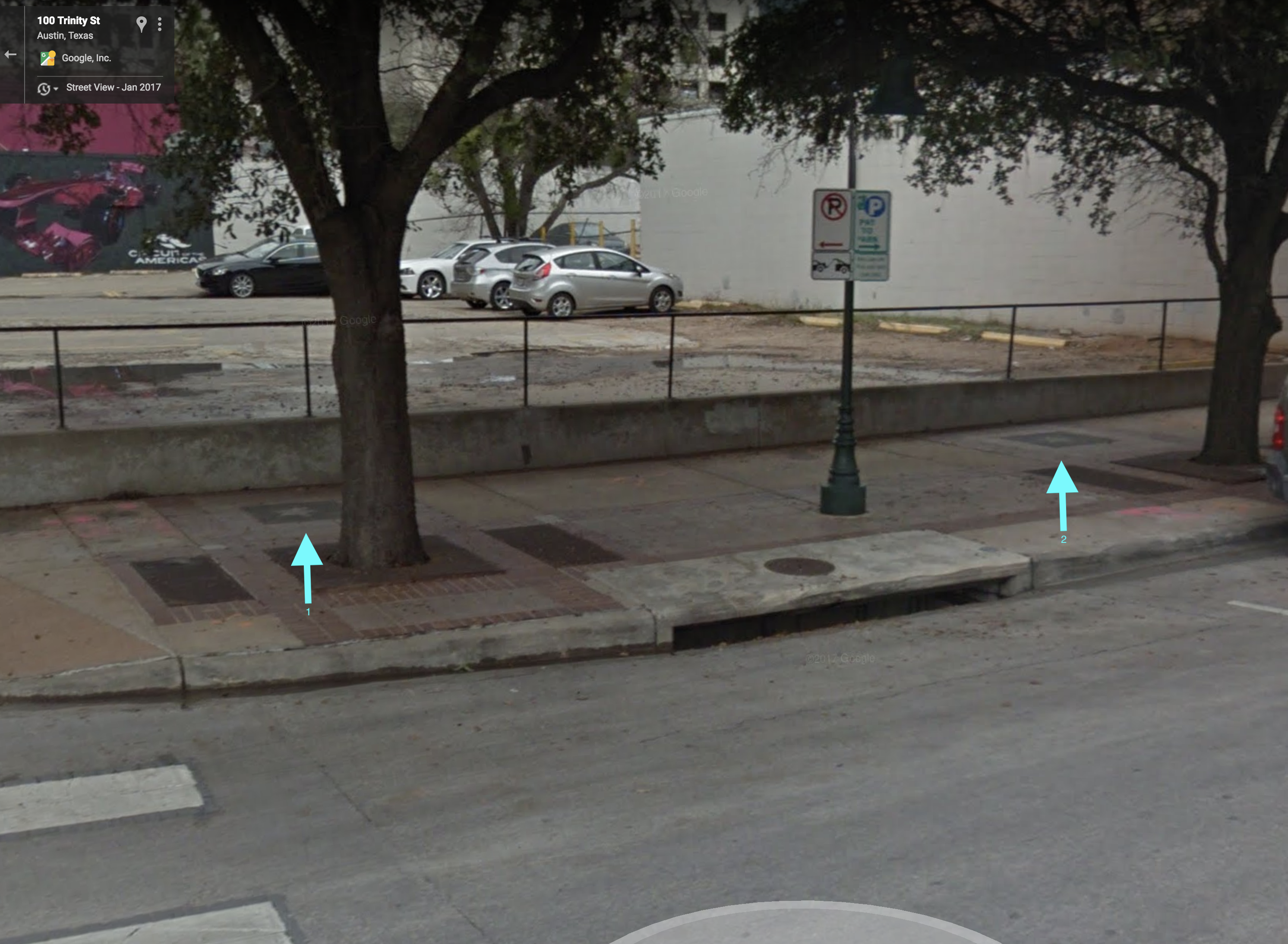 100 Trinity Street Texas Walk of Stars