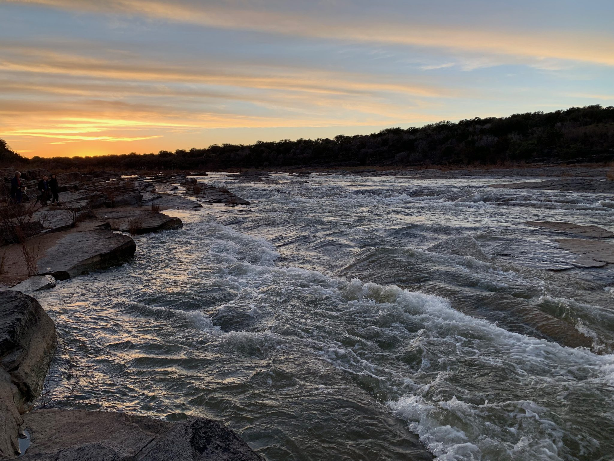 Pedernales Falls Sunset