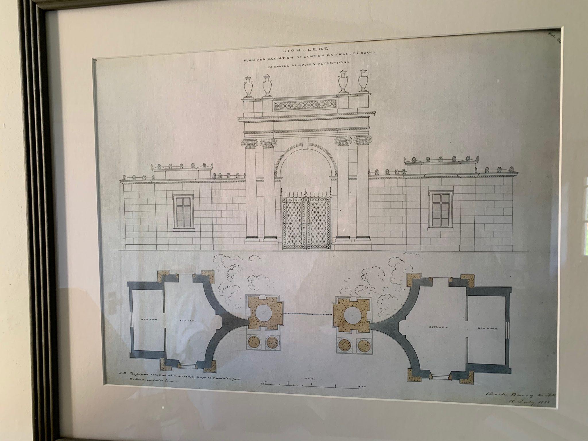 Highclere Castle London Lodge