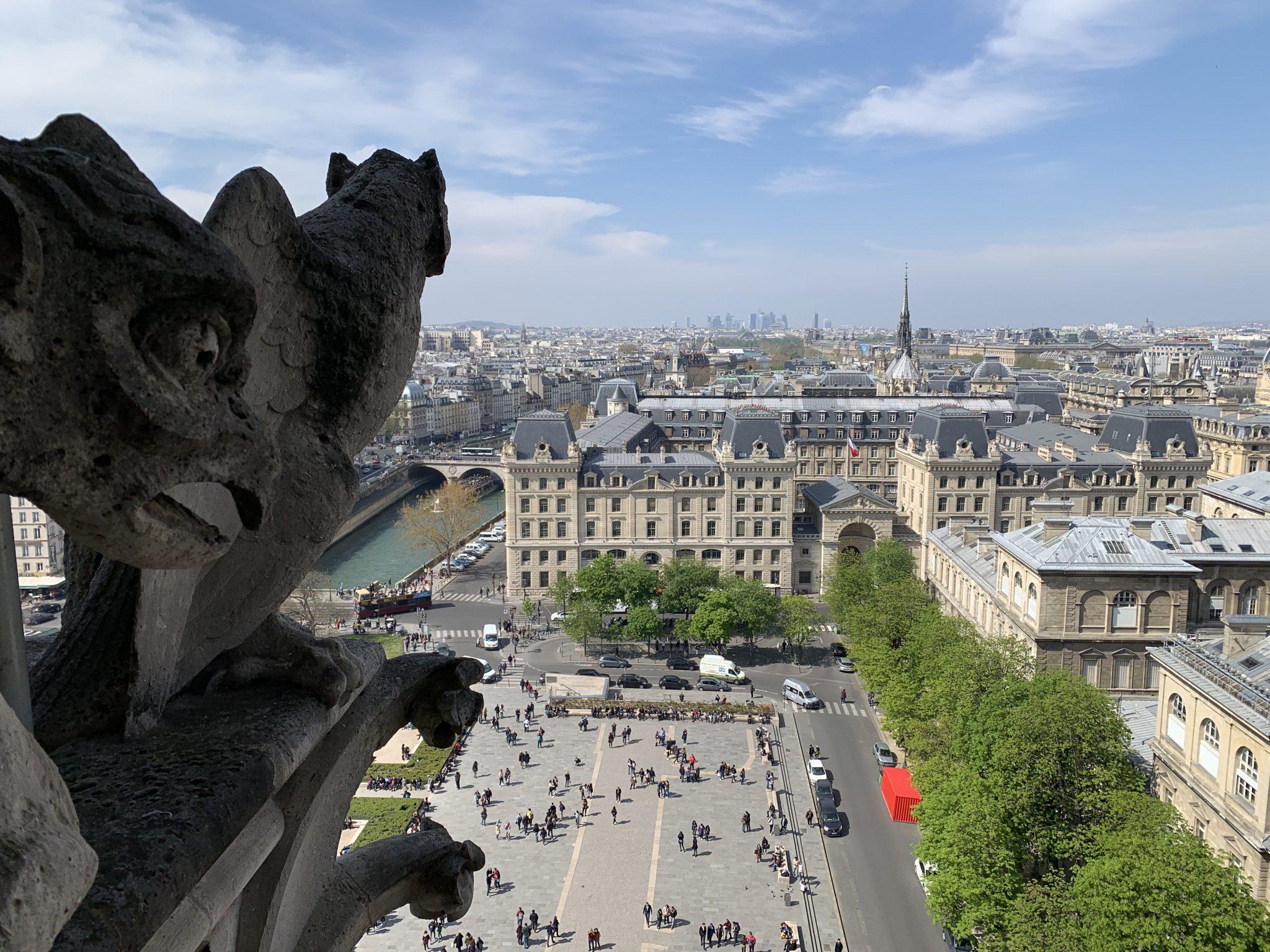 Notre-Dame Gargoyle Plaza