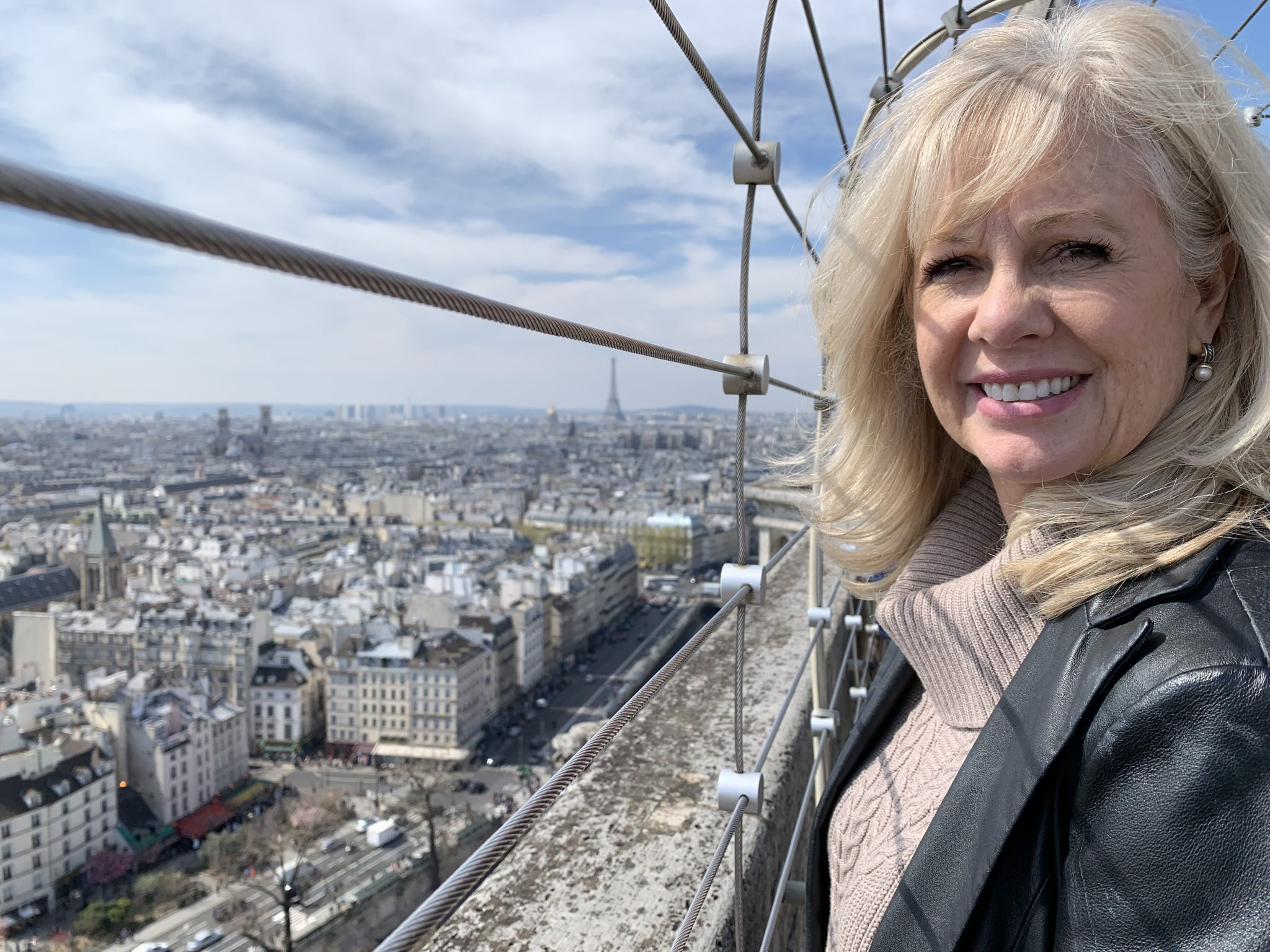Notre-Dame Audrey on South Tower