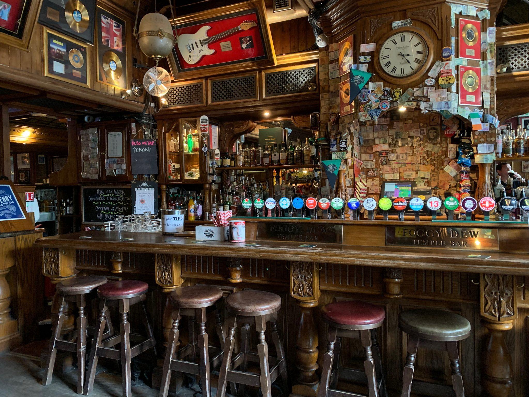 Foggy Dew pub Dublin Belfast