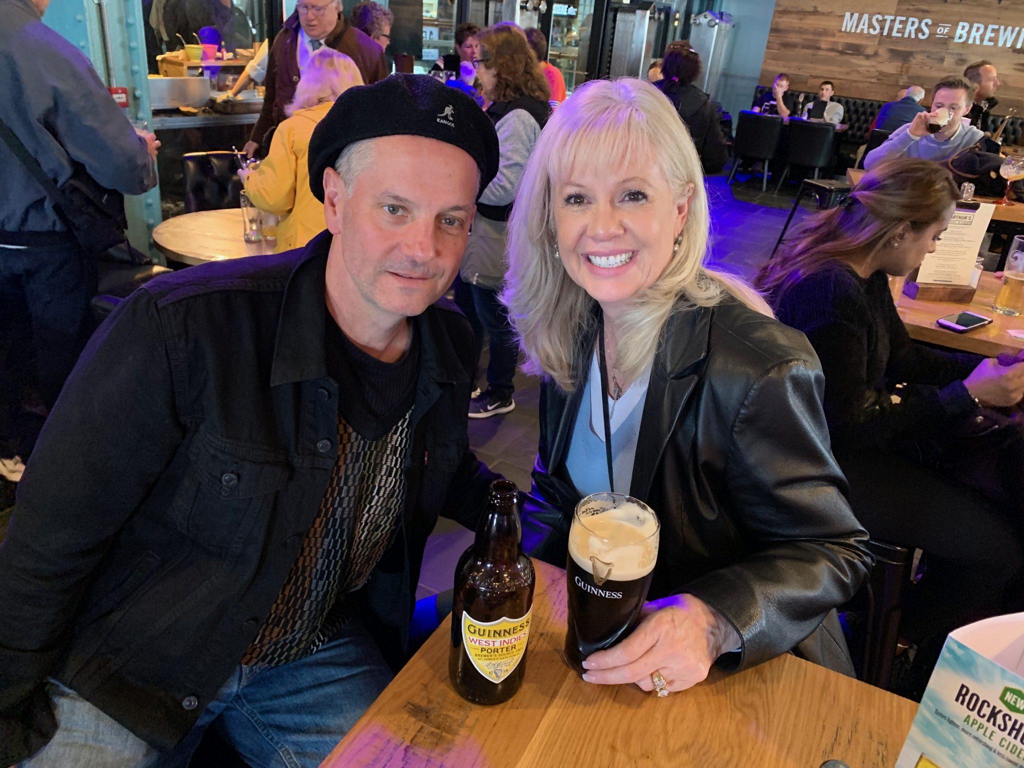 pint of Guinness pubs Dublin Belfast