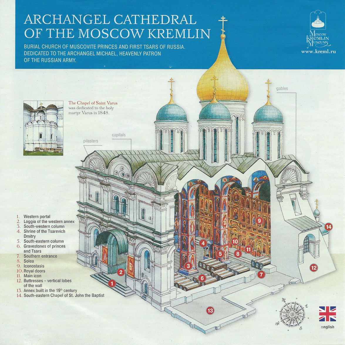 Archangel Cathedral Kremlin