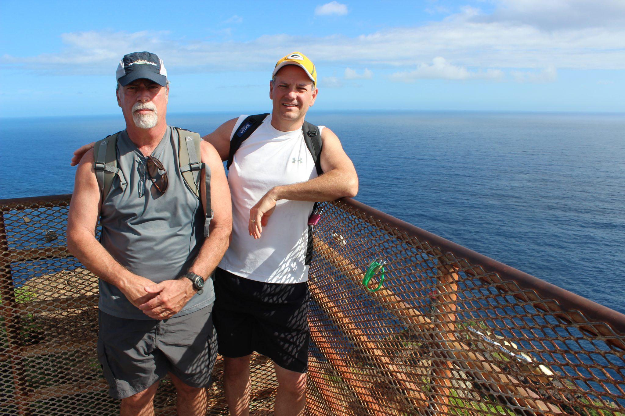 Bob Lavin and me