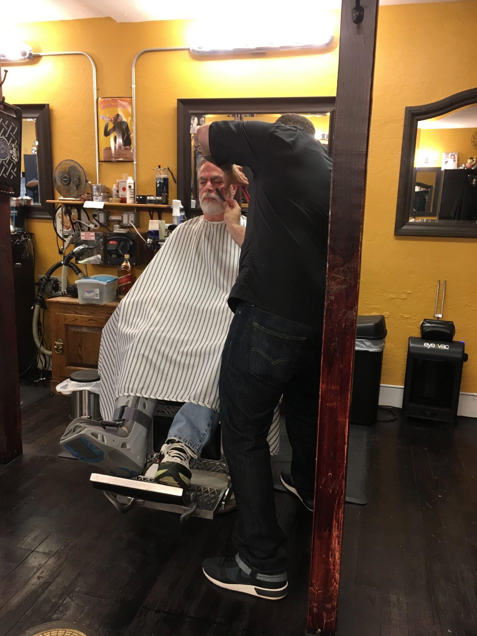 Bob beard shave