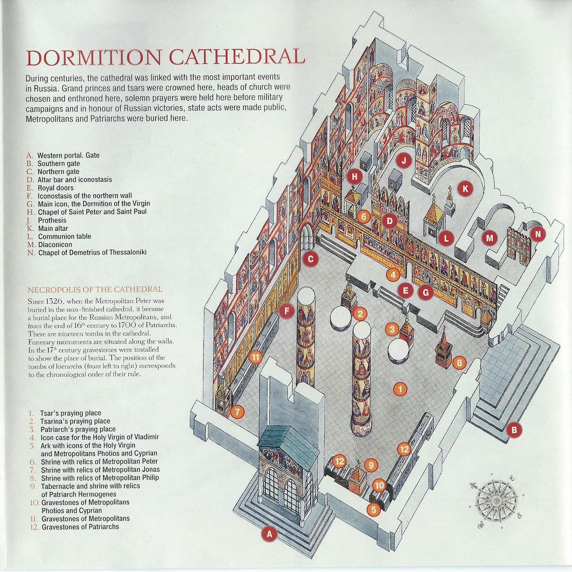 Dormition Church Interior