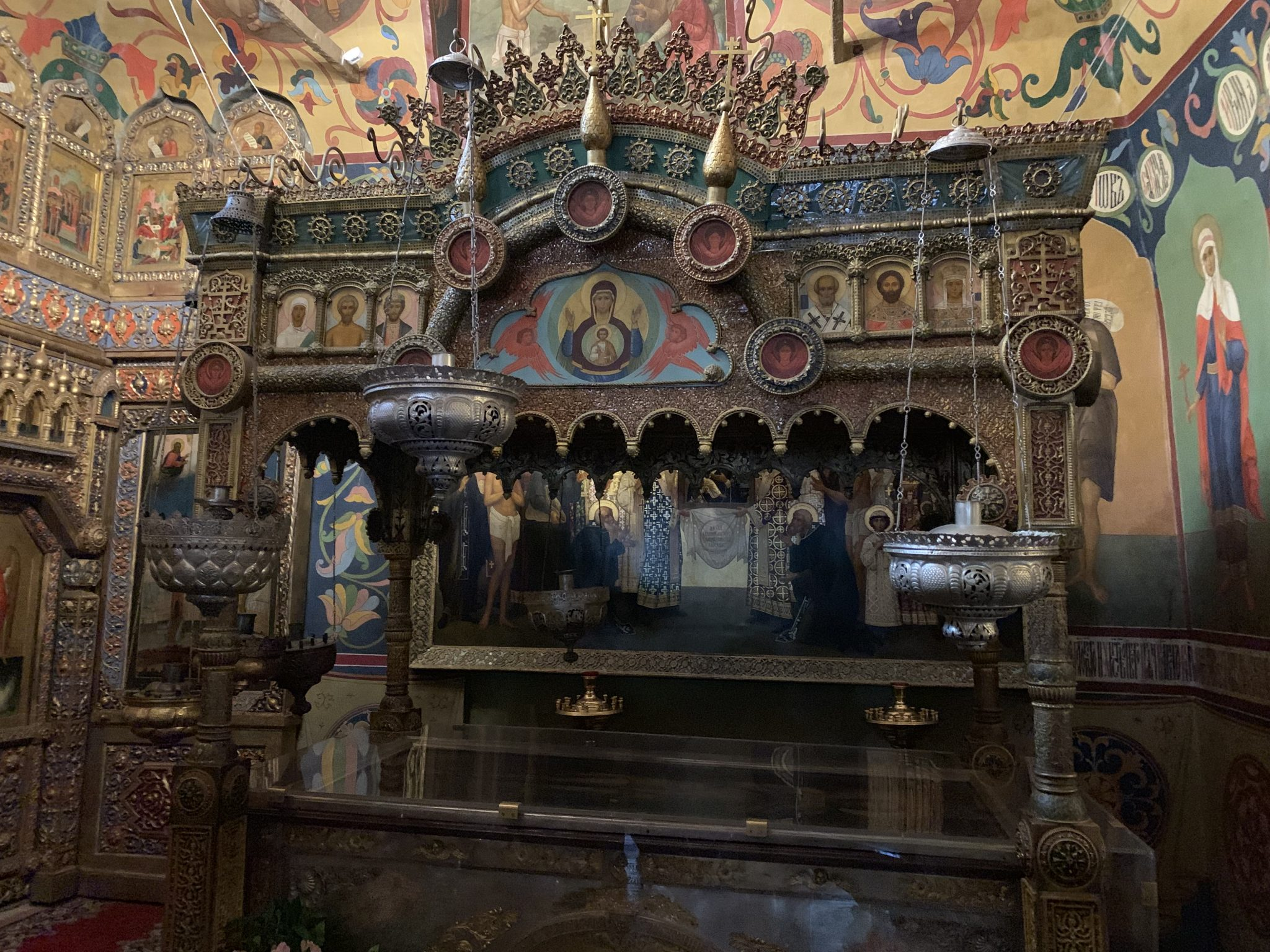 Inside St Basils Red Square