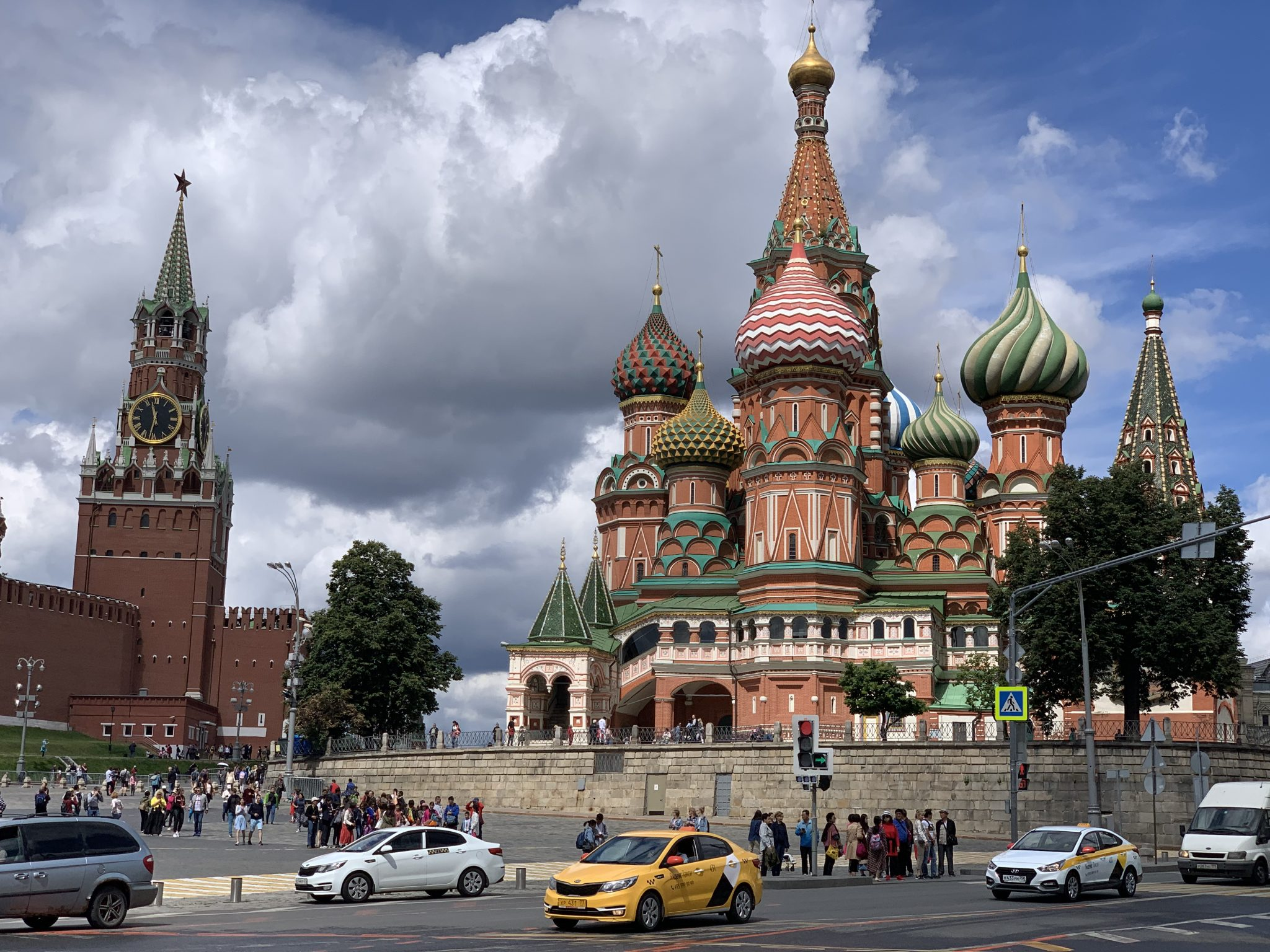 St. Basils Cathedral Red Square