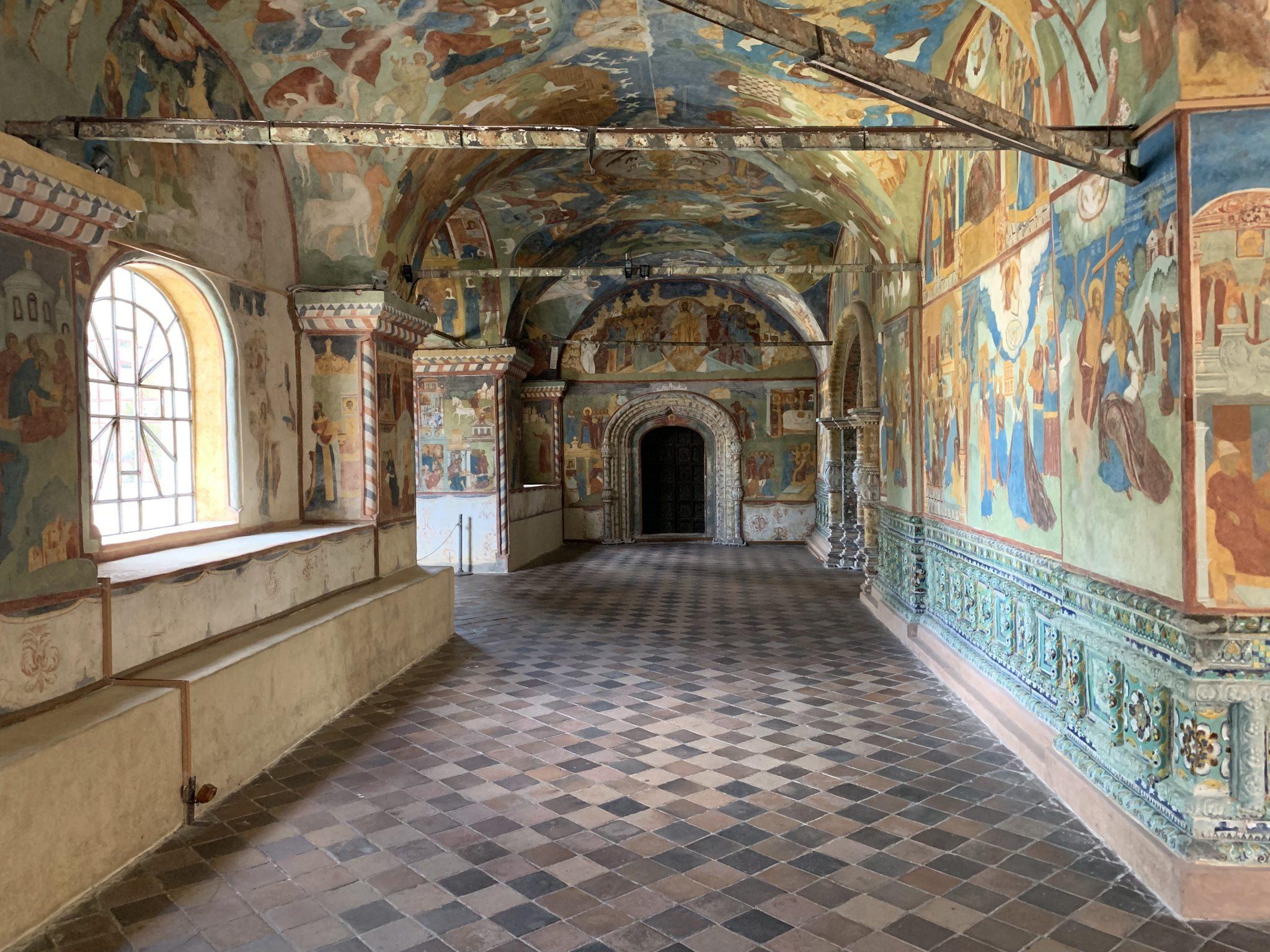 St. Elijah the Prophet Frescoes