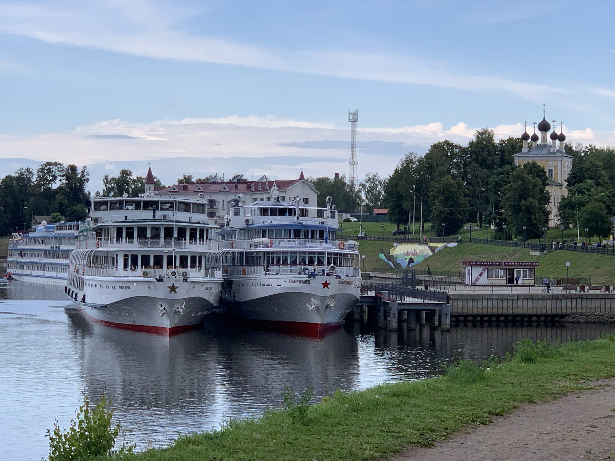 Volga Dream docked