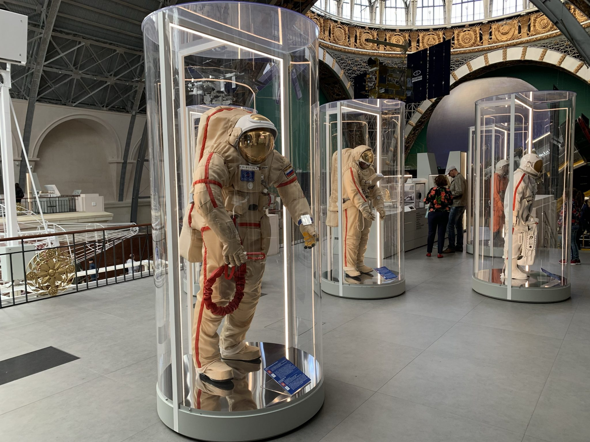 Soviet and Russian space suits