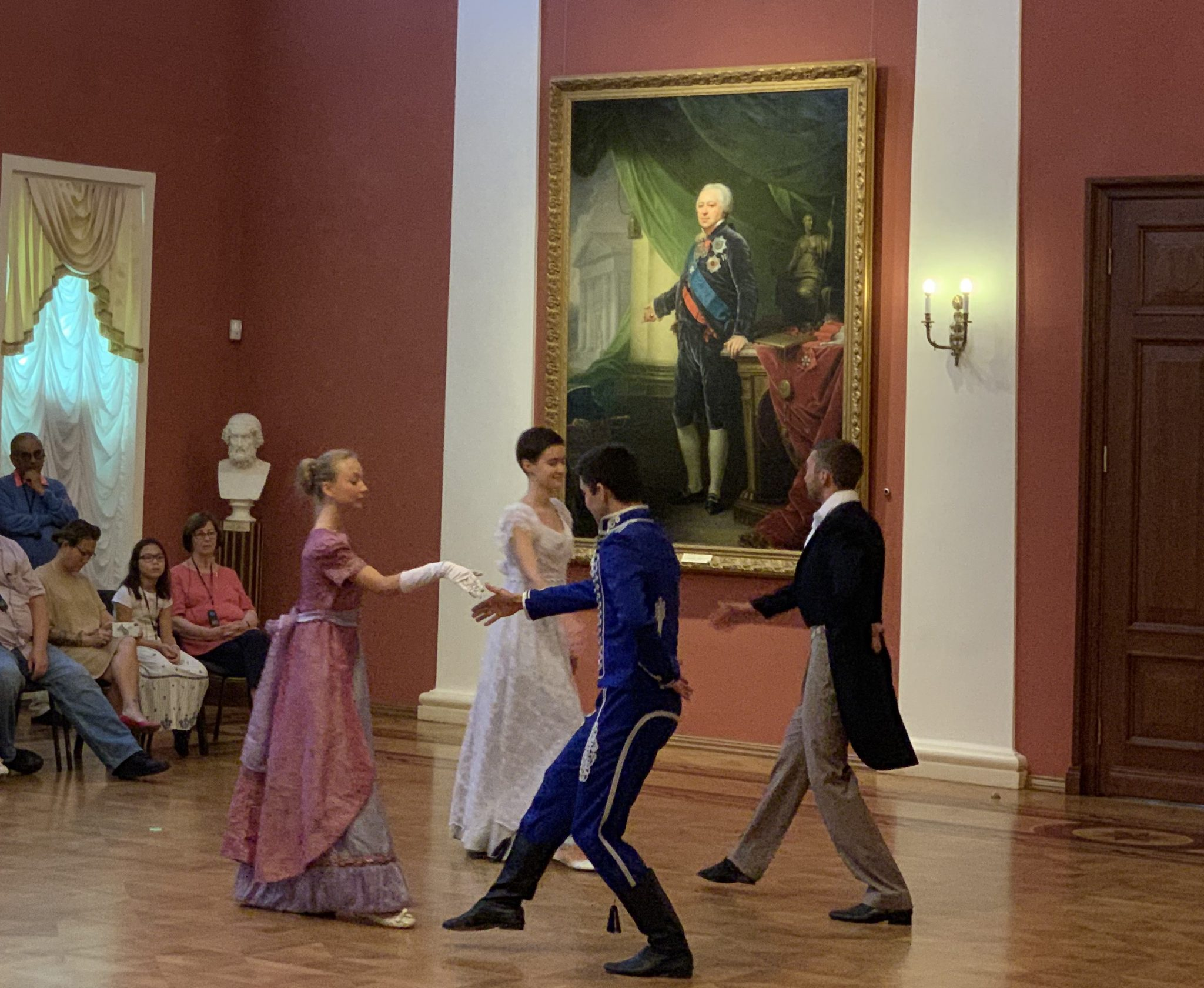 Dancing Govenors Palace Yaroslavl