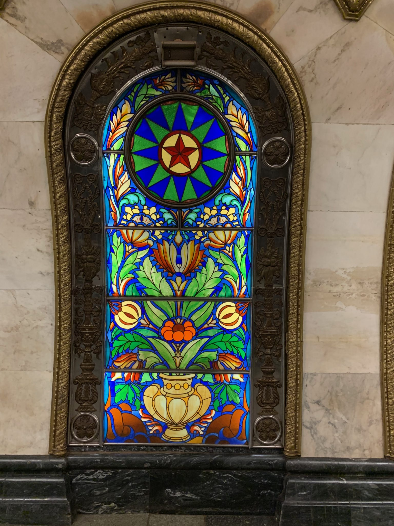 Subway Stained Glass