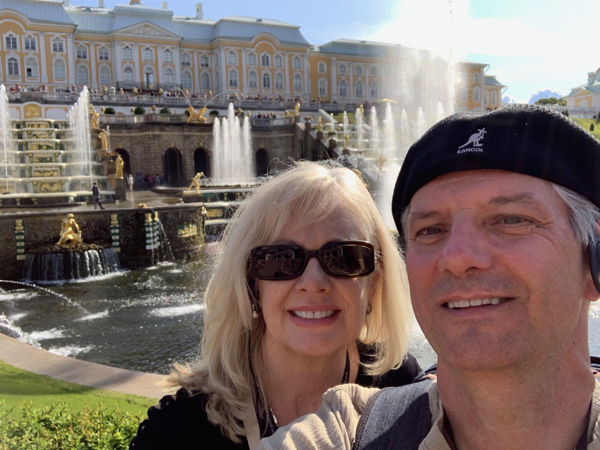 Us at Peterhof