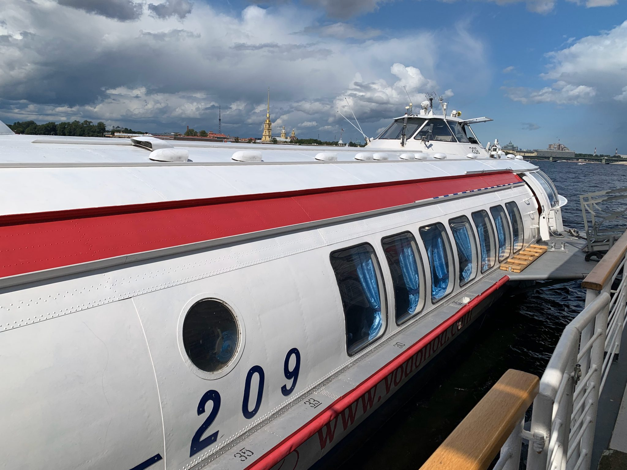 Hydrofoil to Peterhof