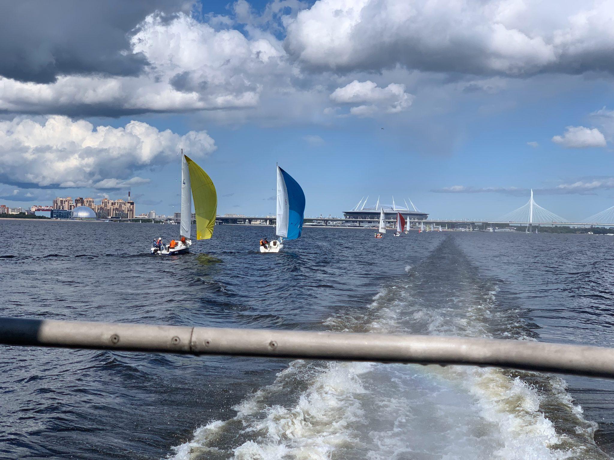 Sailboats Saint Petersburg