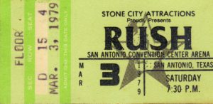 Rush March 03 1979