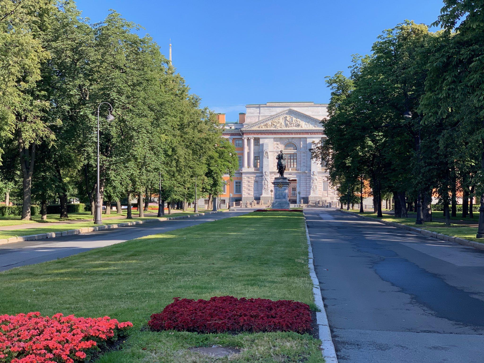 Peter statue Saint Petersburg