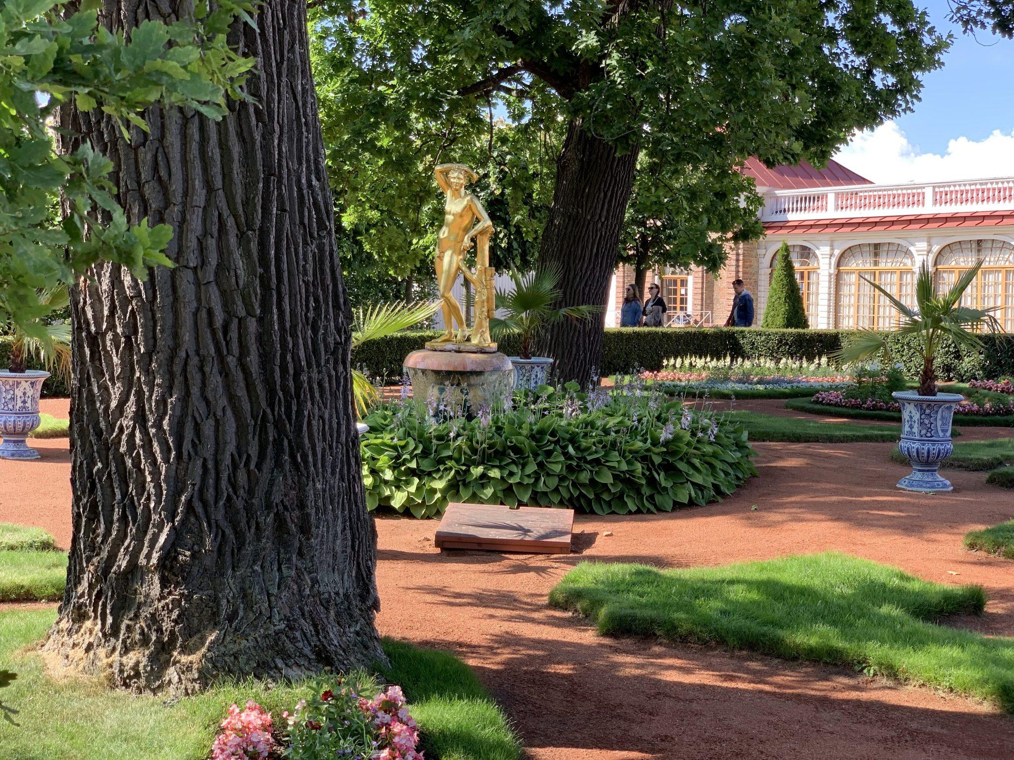 Peterhof Garden Statue