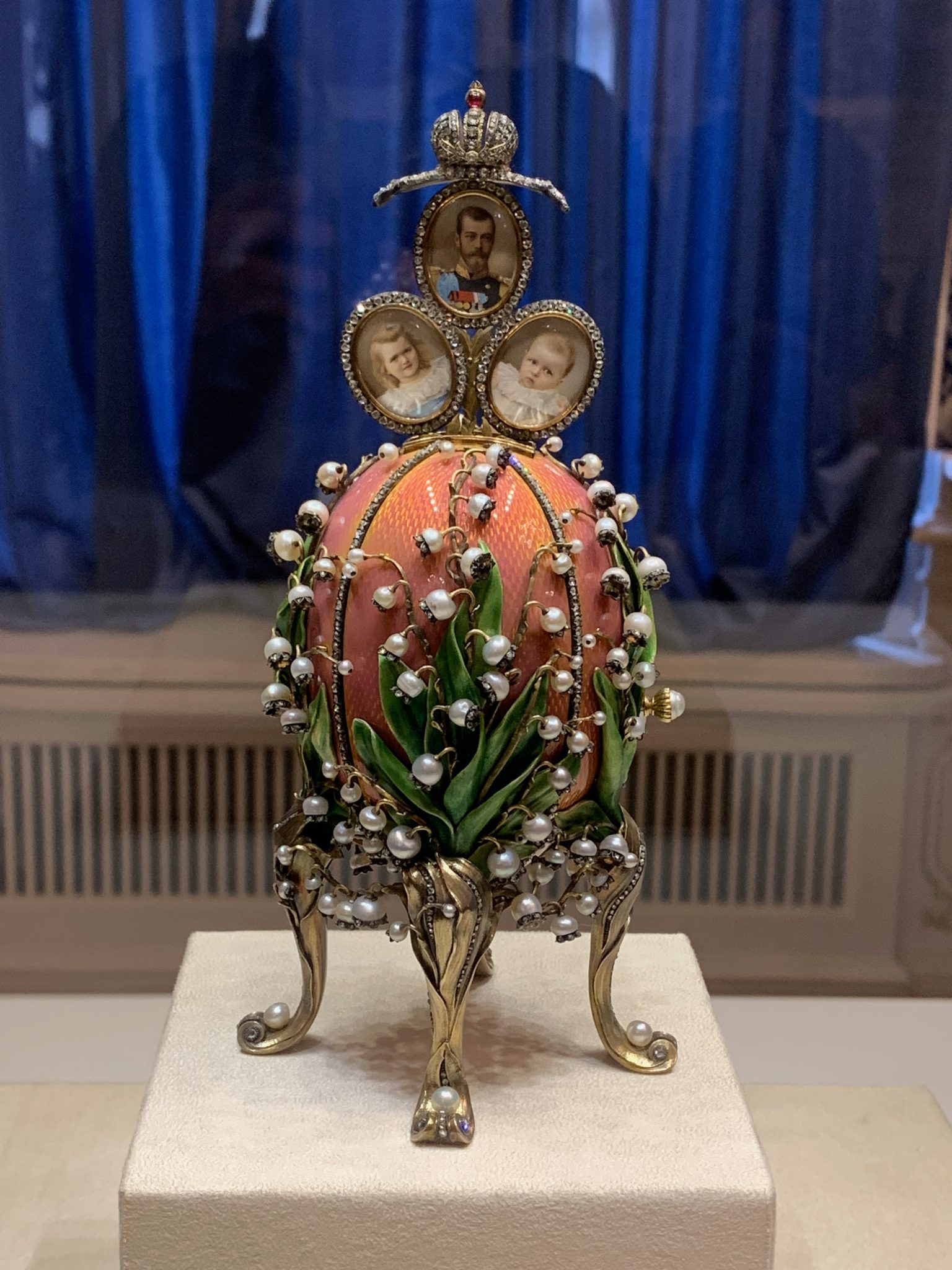 Fabergé Egg Lillies of the Valley