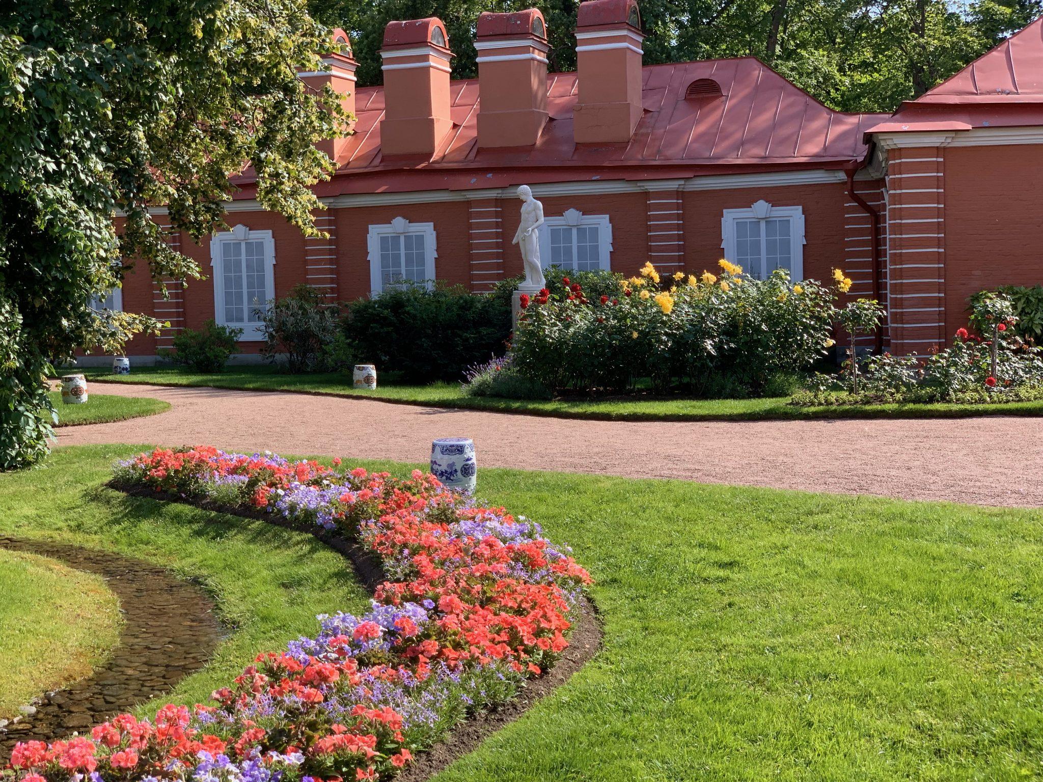 Gardens Bathhouse Peterhof