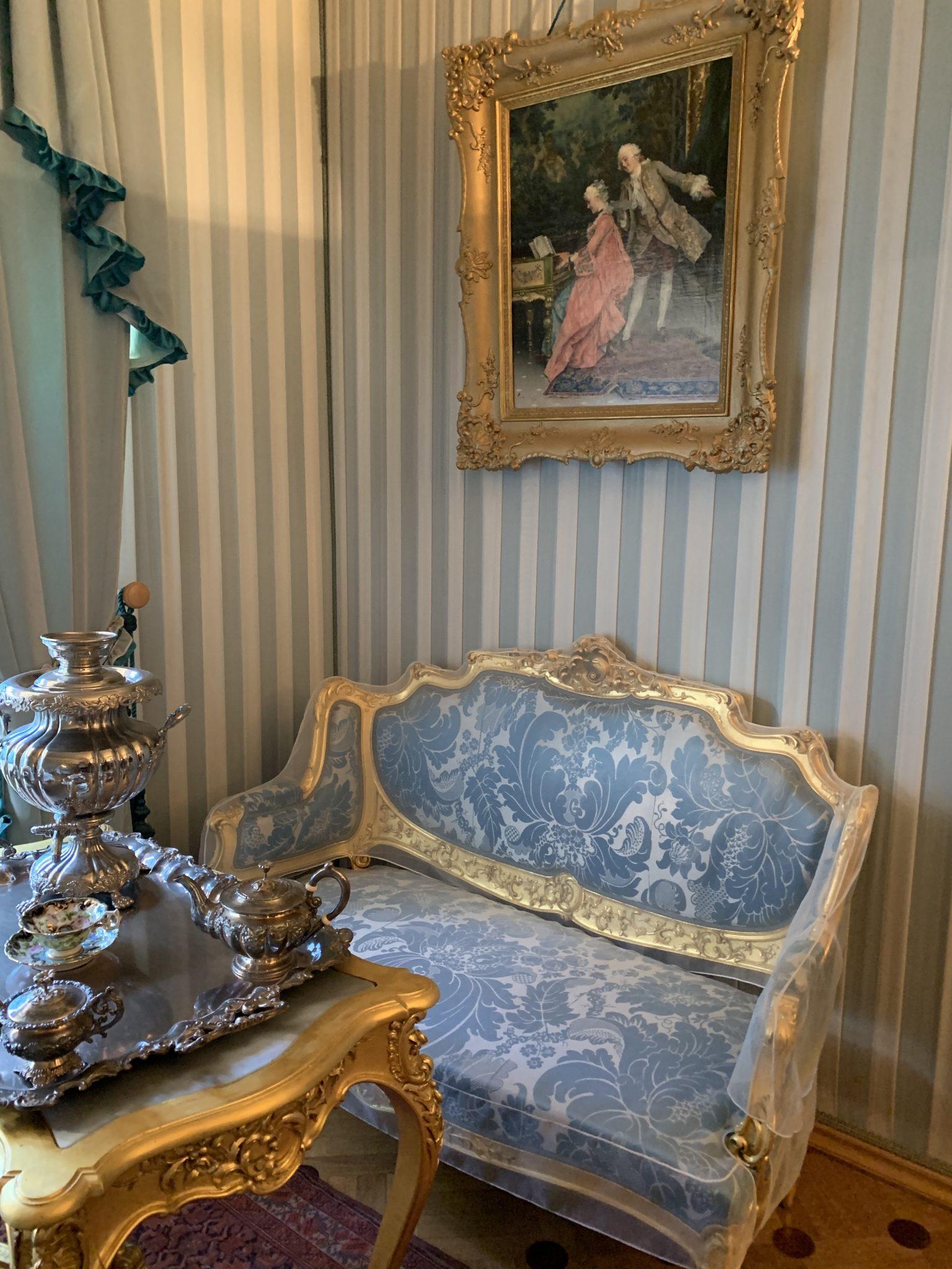Inside Monplaisir Peterhof