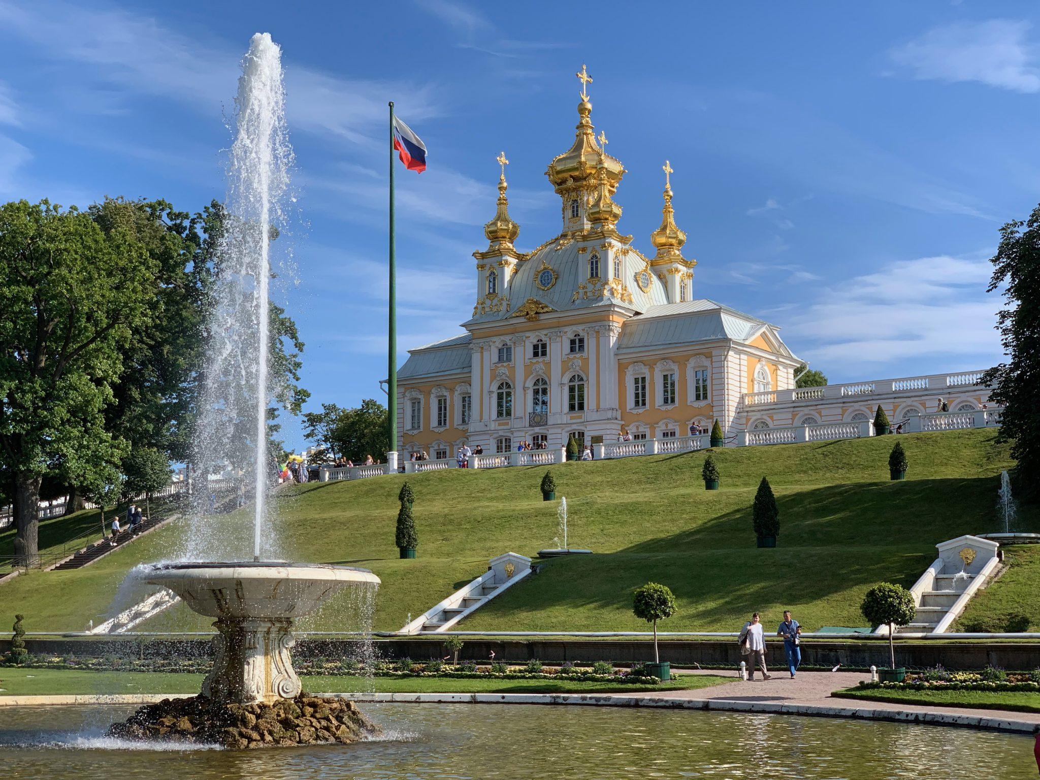 Church Pavilion Peterhof