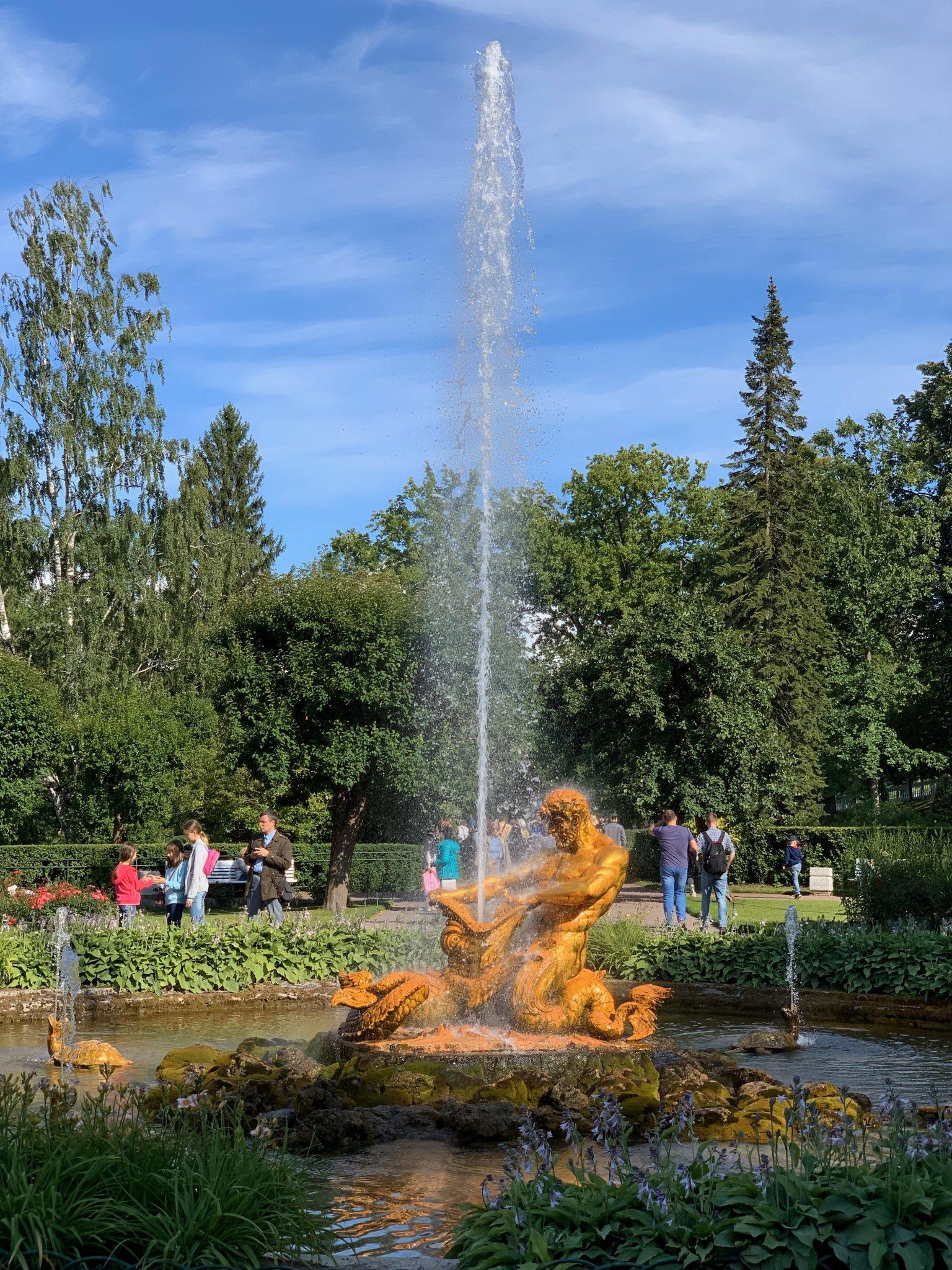 Sampson Fountain Peterhof