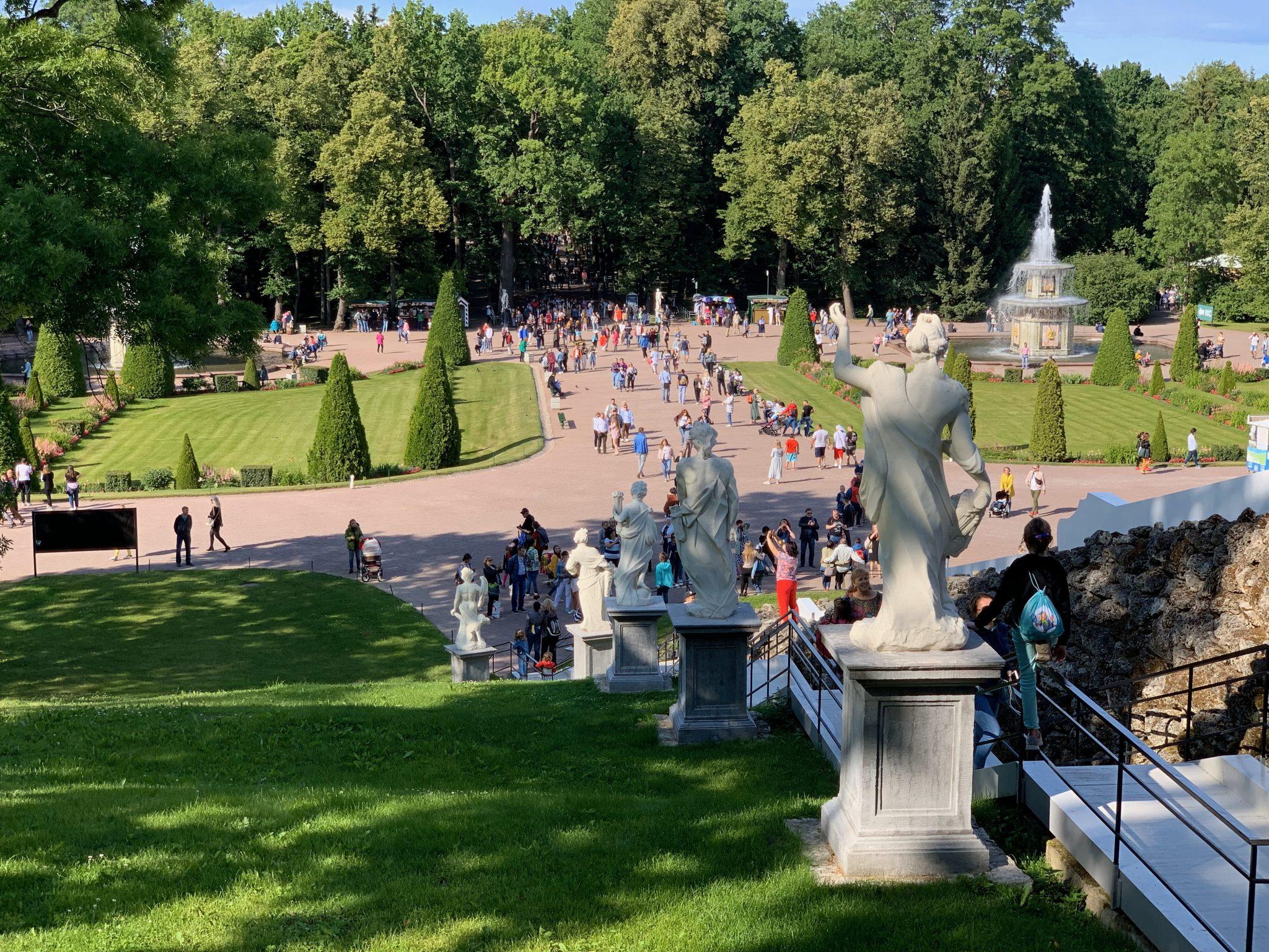 Stariway at Cascade Peterhof