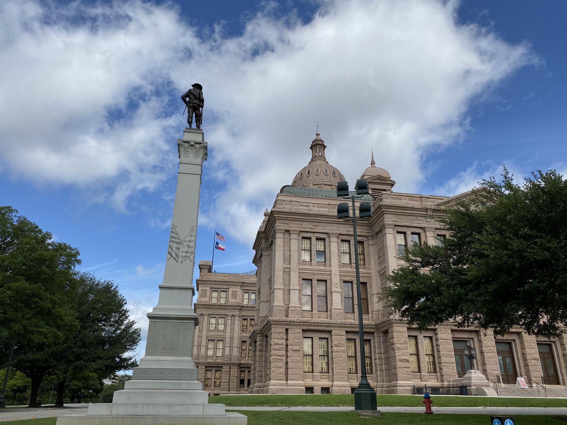Hood's Brigade monument at Texas Capitol
