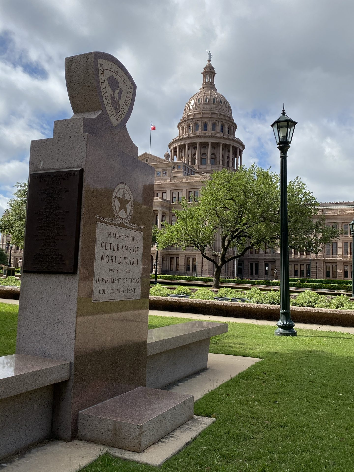 World War I monument at Texas Capitol