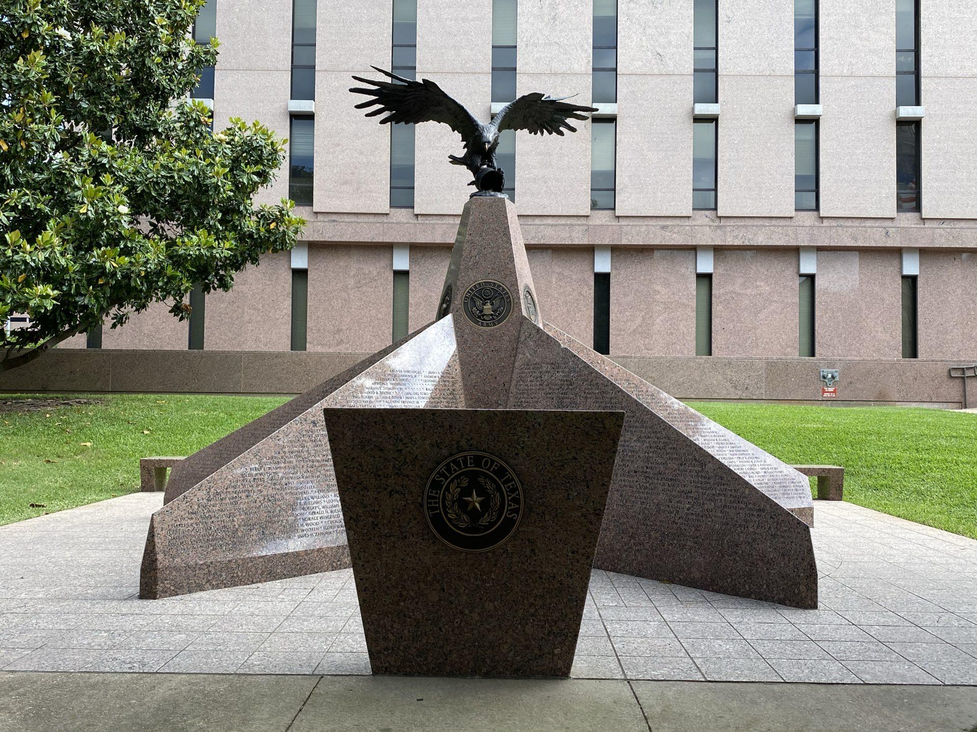 Korean War Veterans at Texas Capitol