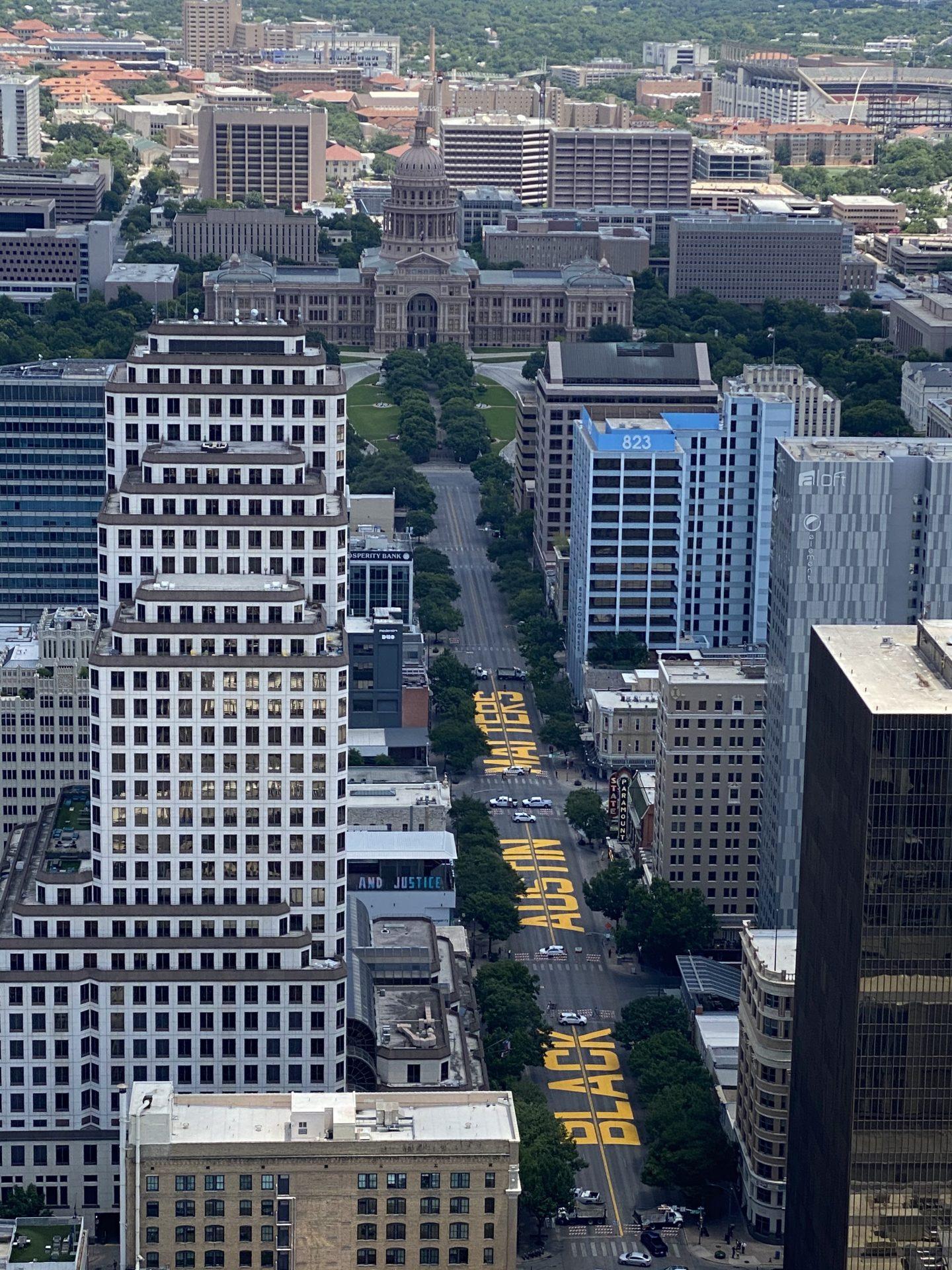 Texas Capitol Black Austin Matters